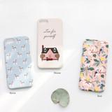 Horse / House /  Bird - matte plastic hard case for iPhone 7