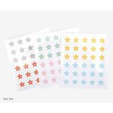 Star line - Dailylike Transparent circle and star deco sticker set ver.3