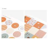 02 - Dailylike Paper pattern sticker set