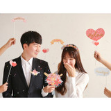 Dailylike Wedding photo stick props set