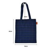 Size of Jam studio Daily check ecobag shoulder tote bag