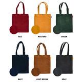 Color of Jam studio Cozy corduroy shoulder tote bag