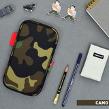Camo - Jam studio Folding pencil case pocket pouch ver.4