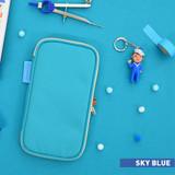 Sky blue - Jam studio Folding pencil case pocket pouch ver.4
