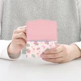 Pink - Iconic Pochette pattern card case pocket wallet