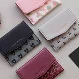 Iconic Pochette pattern card case pocket wallet