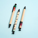 Monopoly Woody cute black ballpoint pen 0.7mm