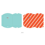C - Livework Som Som gift paper bag small set of 3 styles