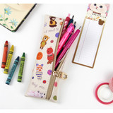 Choo Choo cat slim pencil case