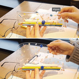 Space - N.IVY Buri clear folding slim pencil case