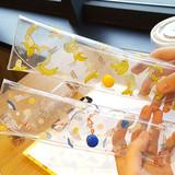 N.IVY Buri clear folding slim pencil case
