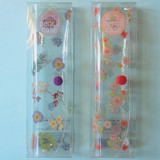 N.IVY Moon's friend clear folding slim pencil case