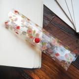 Red - N.IVY Moon's friend clear folding slim pencil case