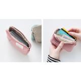 Indi pink - A low hill basic standard pocket card case ver.2