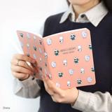 Dona - Romane illustration medium plain and lined notebook