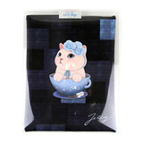 Package for Choo Choo cat cori zipper tote bag