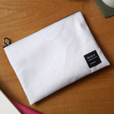 Clay white - Make your second plan medium slim pouch