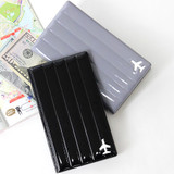 Fenice Airplane enamel RFID blocking medium passport cover