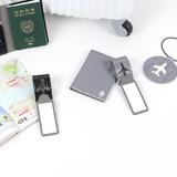 Fenice Airplane enamel travel luggage name tag