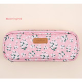 Blooming pink - Lovely pattern block pencil case pouch