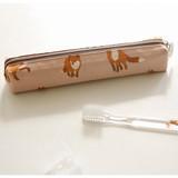 Winter fox - For your heart slim zipper pencil case