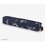 Snow flower - For your heart slim zipper pencil case