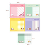Size of Molang nemo cute sticky memo note