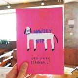 Dog - Valerie studio ordinary A5 monthly undated planner scheduler