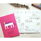 Monthly plan - Valerie studio ordinary A5 monthly undated planner