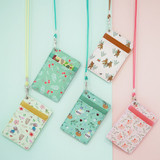Willow story pattern flat card holder case ver4