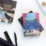 Bon Bon illustration small lined notebook