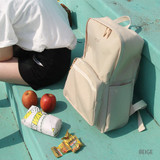 Beige - Around'D mais oui backpack