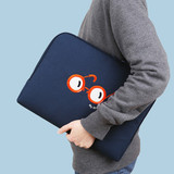 Blue - My little tiny thing 13 inches laptop pouch case
