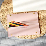 Multi purpose twin pocket pencil case