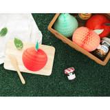 Fresh fruits shape card