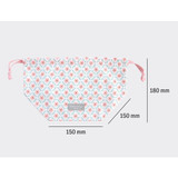 Size of Comely pattern cube drawstring pouch
