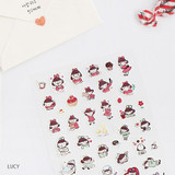 Lucy - Hellogeeks petite deco sticker set