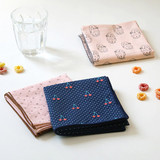 Florence pattern cotton handkerchief