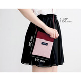 Size of Comely pattern small crossbody bag