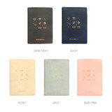 Colors of Twinkle RFID blocking passport cover