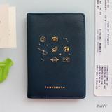 Navy - Twinkle RFID blocking passport cover
