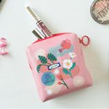 Flower blossom - Du dum charming illustration zipper pouch