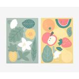 Fruit point paper sticker set