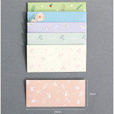 Lovesome gift envelope set horizontal