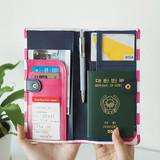 Everymonster travel long passport case