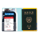 Example of Everymonster travel RFID blocking passport case