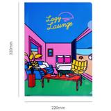 Size of Lazy lounge retro file folder