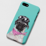 Pug Dodo polycarbonate iPhone case