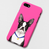 Boston Terrier Terry polycarbonate iPhone case