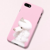 Poodle Didi polycarbonate iPhone case